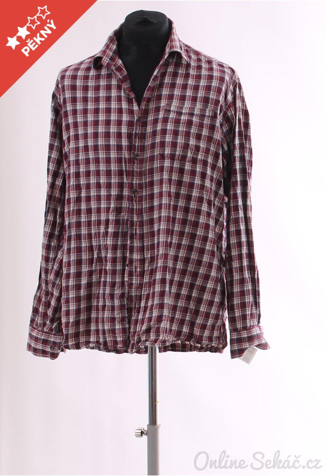 Second hand   Pánské   Košile   Pánská kostkovaná košile Dressmann ... 19cf6d0d92