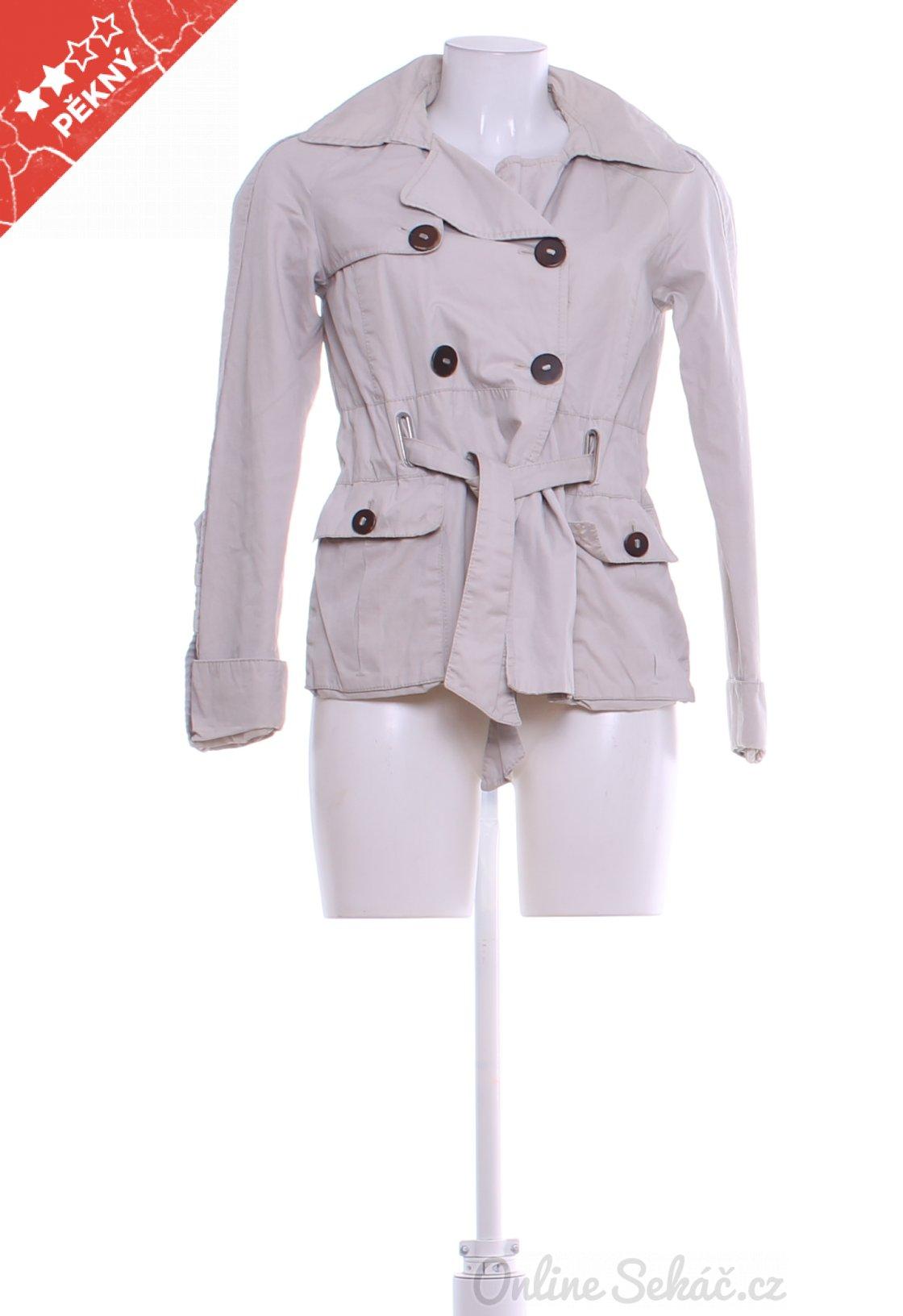 37ecf53d52 Dámský jarní či podzimní kabát ZARA S