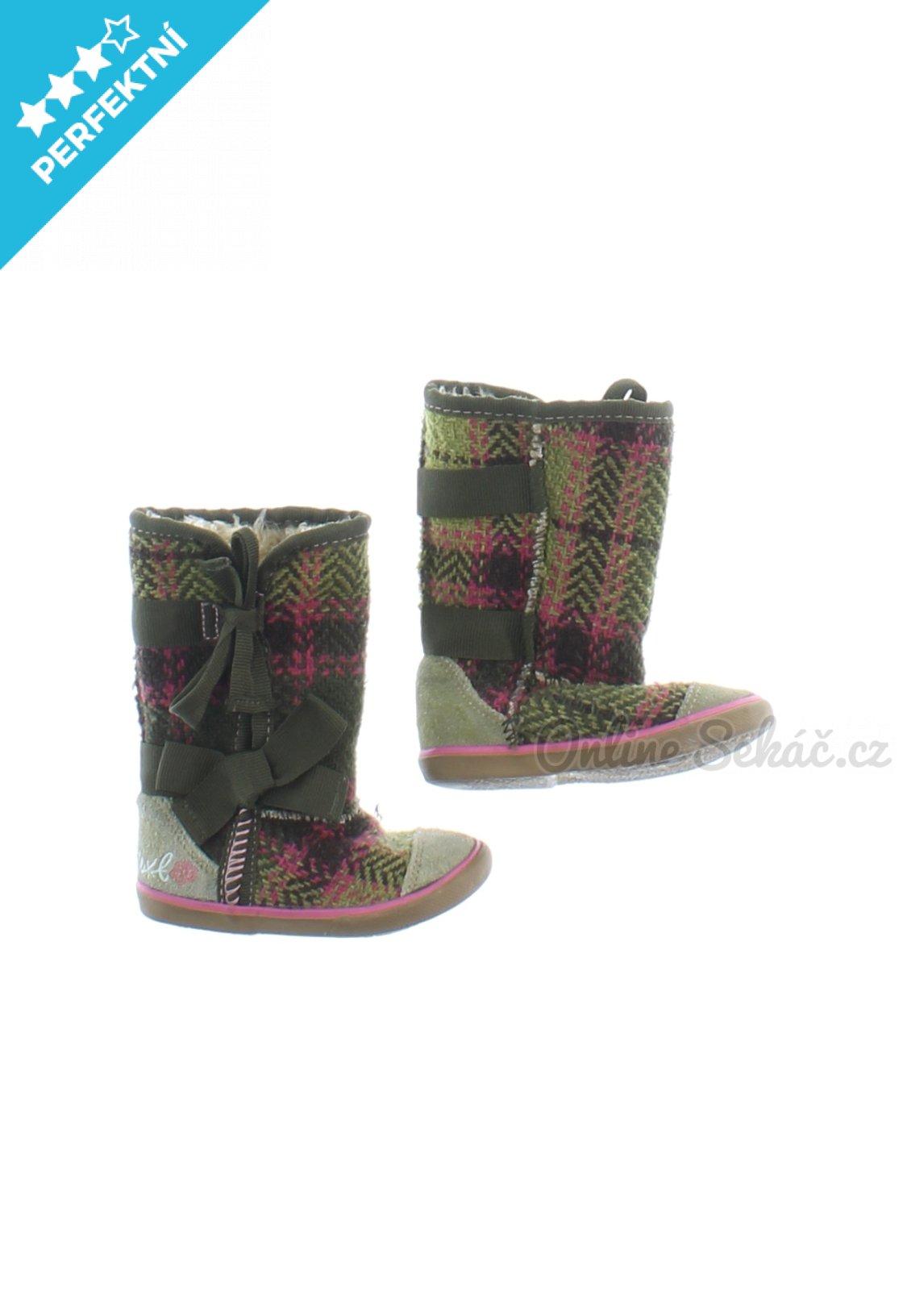 f7f80b134c7 Zimní boty s kožíškem pro batole NEXT 18