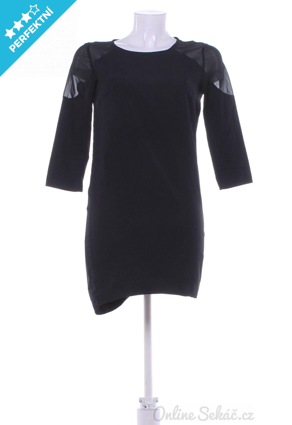 Second hand - Vzor  JEDNOBAREVNÝ   Dámské večerní šaty BERSHKA S ... 8d3591cf4c