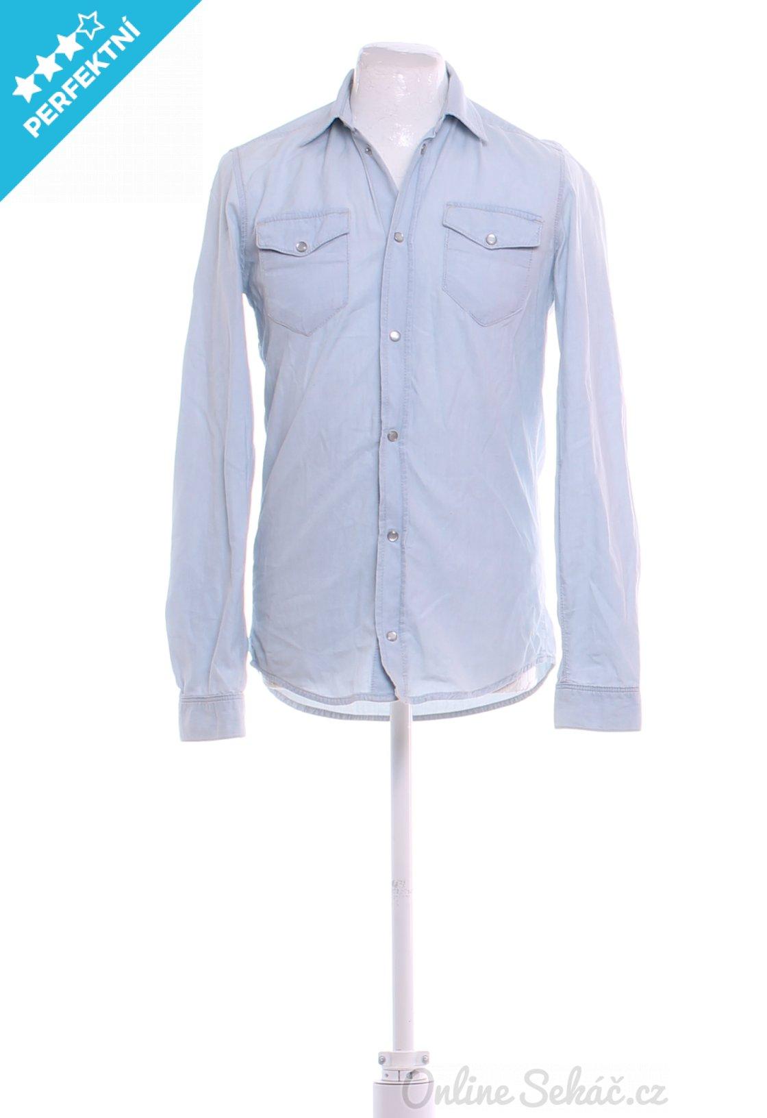 Second hand   Pánské   Košile   Pánská džínová košile BOYFRIEND XS ... 9356a444d3