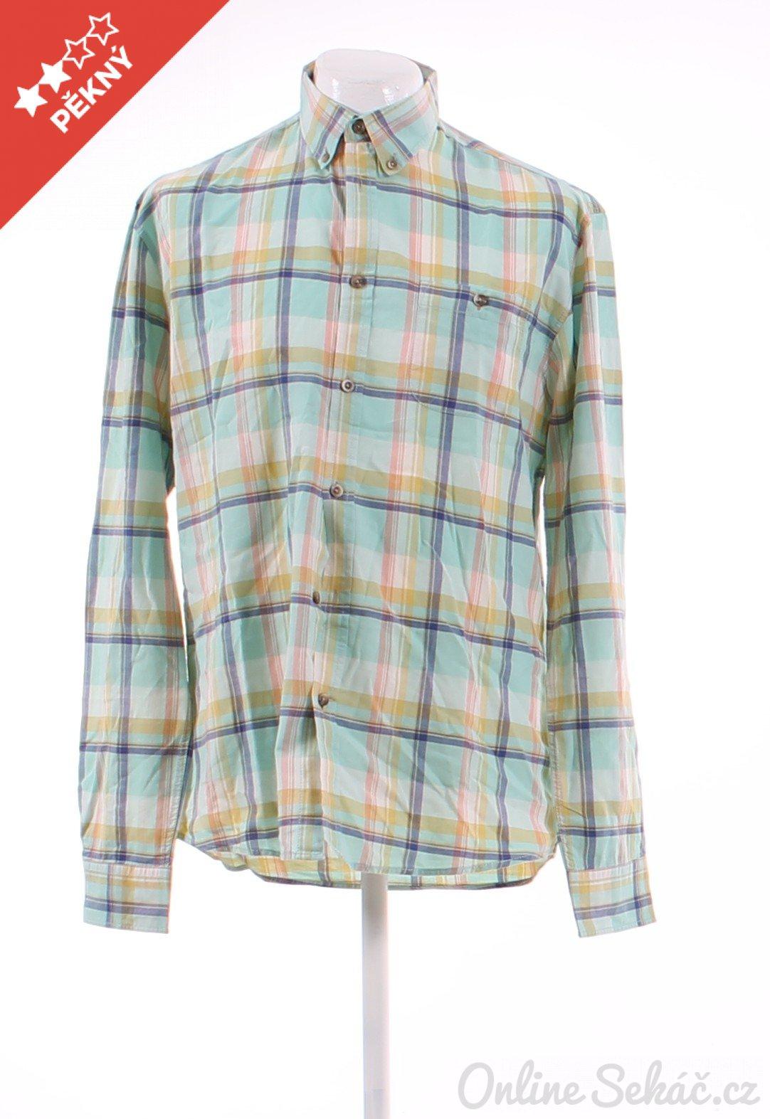 Pánská kostkovaná košile SELECTED L 9505ed2b3a