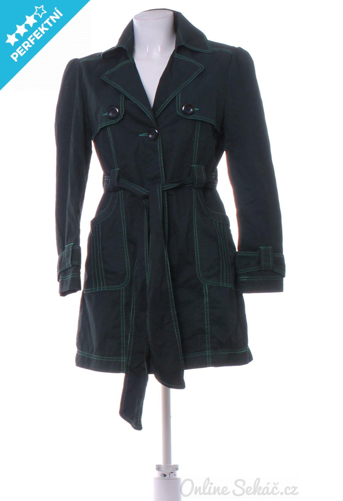 Second hand   Dámské   Kabáty krátké   Dámský jarní či podzimní kabát PAPAYA  S 7323dde0352