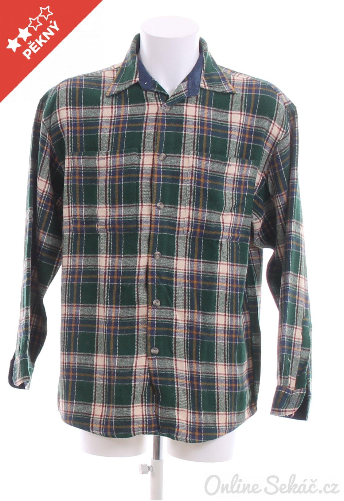 Second hand   Pánské   Košile   Pánská kostkovaná košile CANADA XL ... 233e64f76d