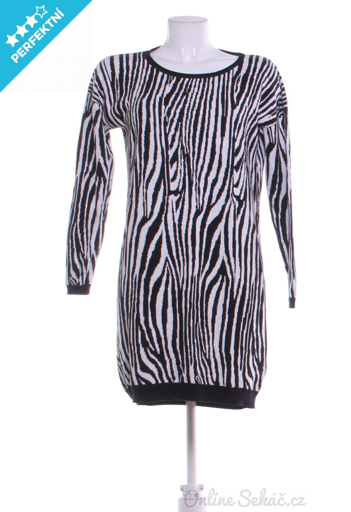 Second hand - Velikost  S - Střih  VOLNÝ   Dámské úpletové šaty ... d3de979379a