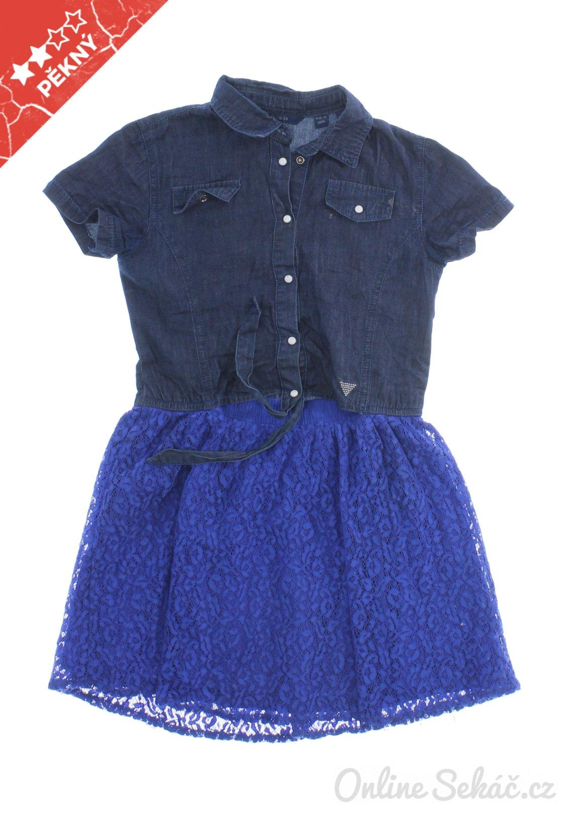 Dětské letní šaty GUESS 128 4a01bfc20c