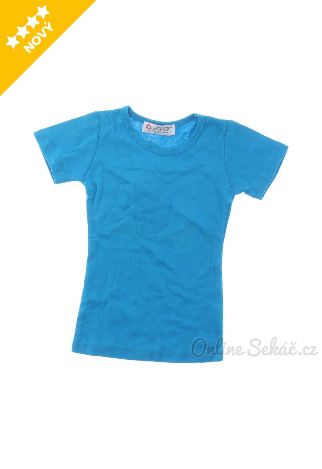 e5675716316 Dětské jednobarevné tričko xxx nový 122