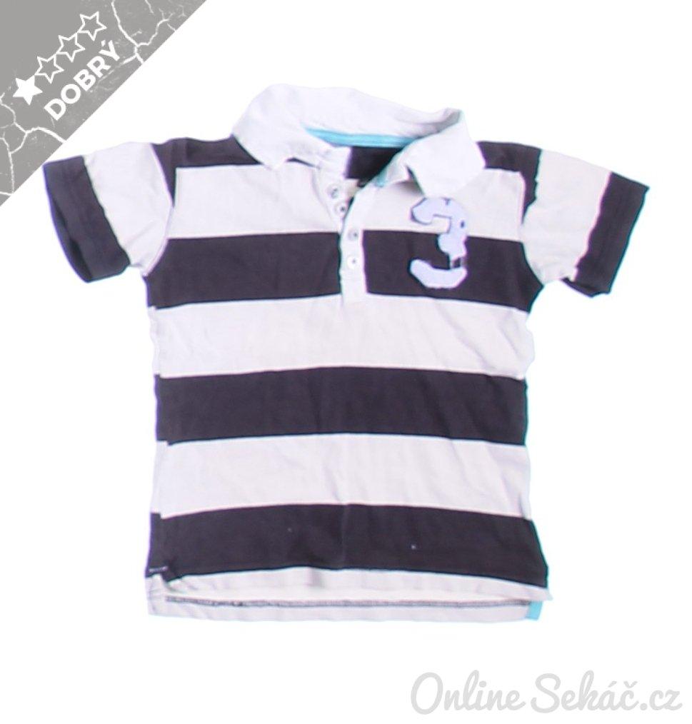 a87fe04761 Second hand - Velikost  104 - Vada  FLEK   Dětské tričko s límečkem ...