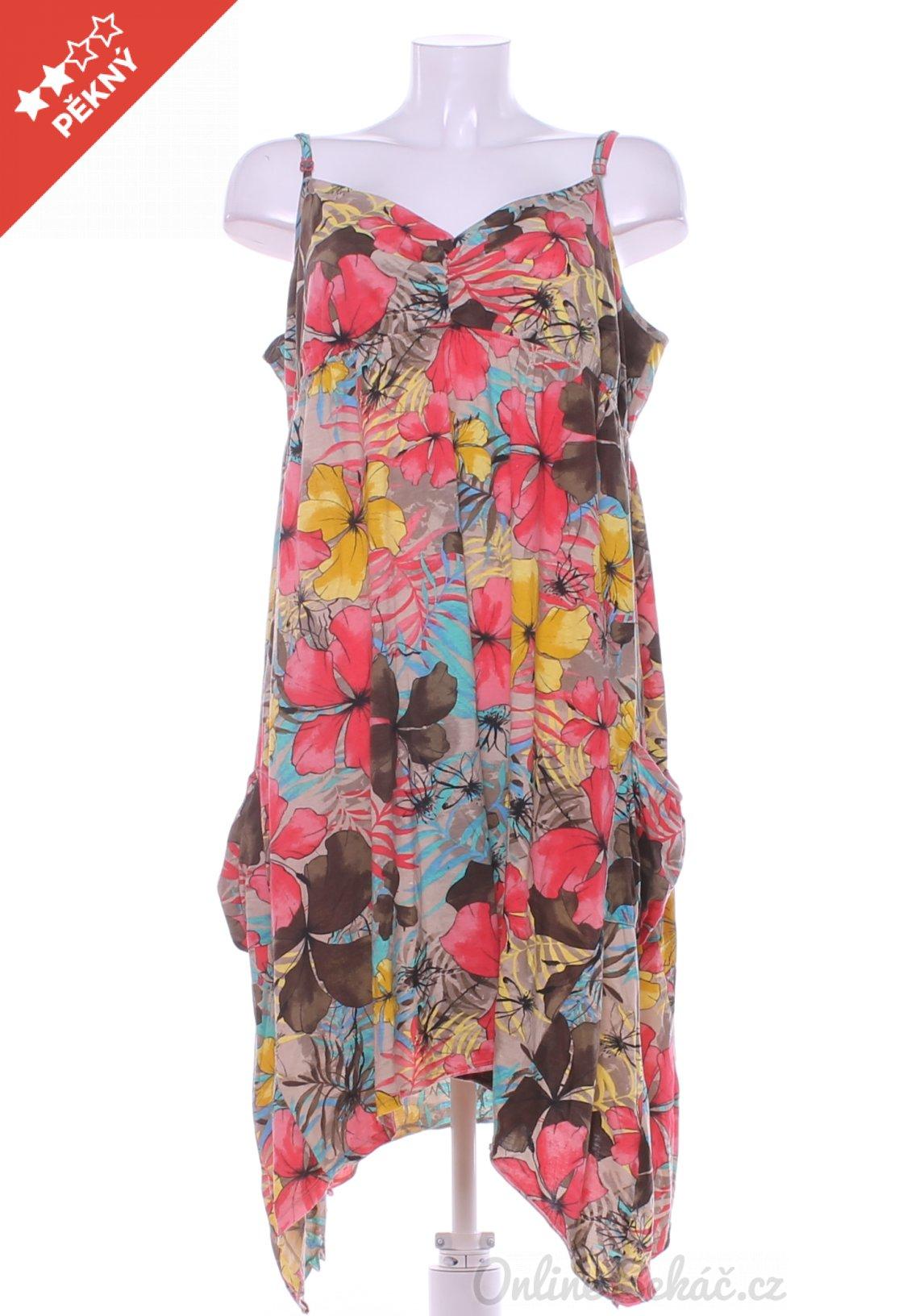 Second hand   Dámské   Šaty dlouhé   Dámské letní šaty GEORGE XXL ... f3e0ca3ca5