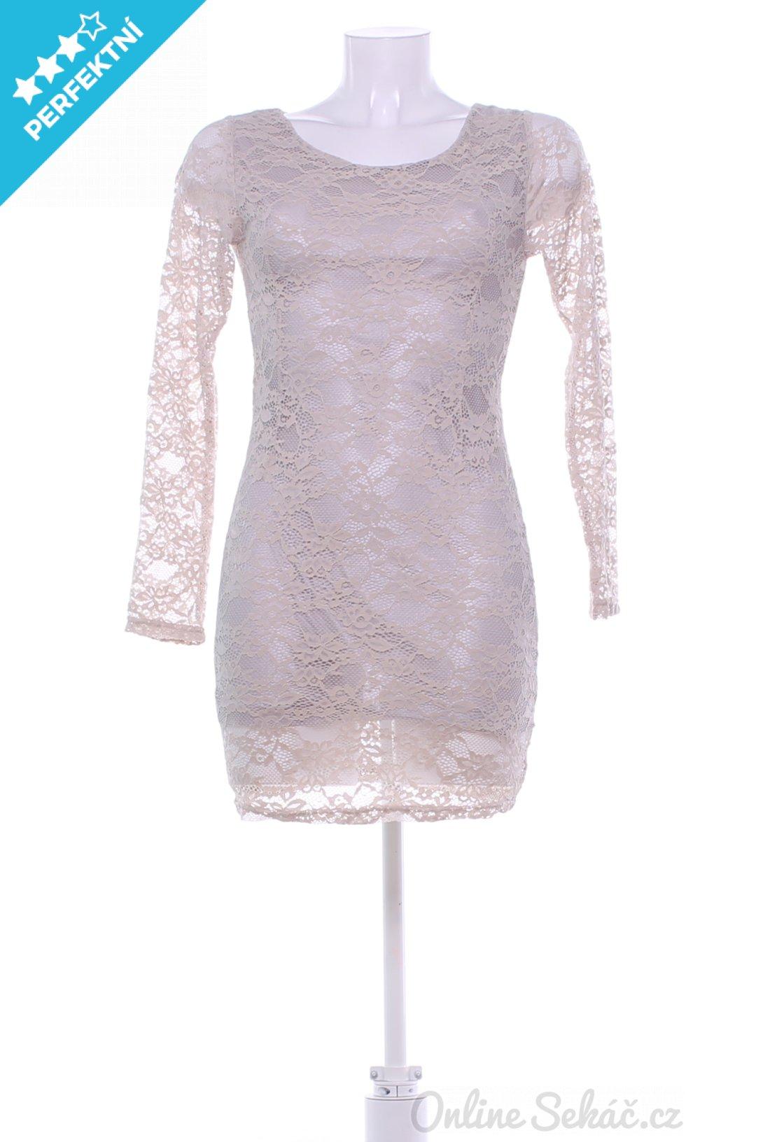 Second hand   Dámské   Šaty krátké   Dámské krajkové šaty SWEET GIRL ... b6e819ccde