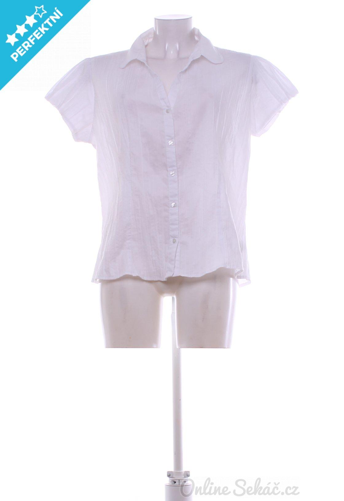 Second hand - Vzor  JEDNOBAREVNÝ   Dámská elegantní košile F F XL ... 4a3b29d18e