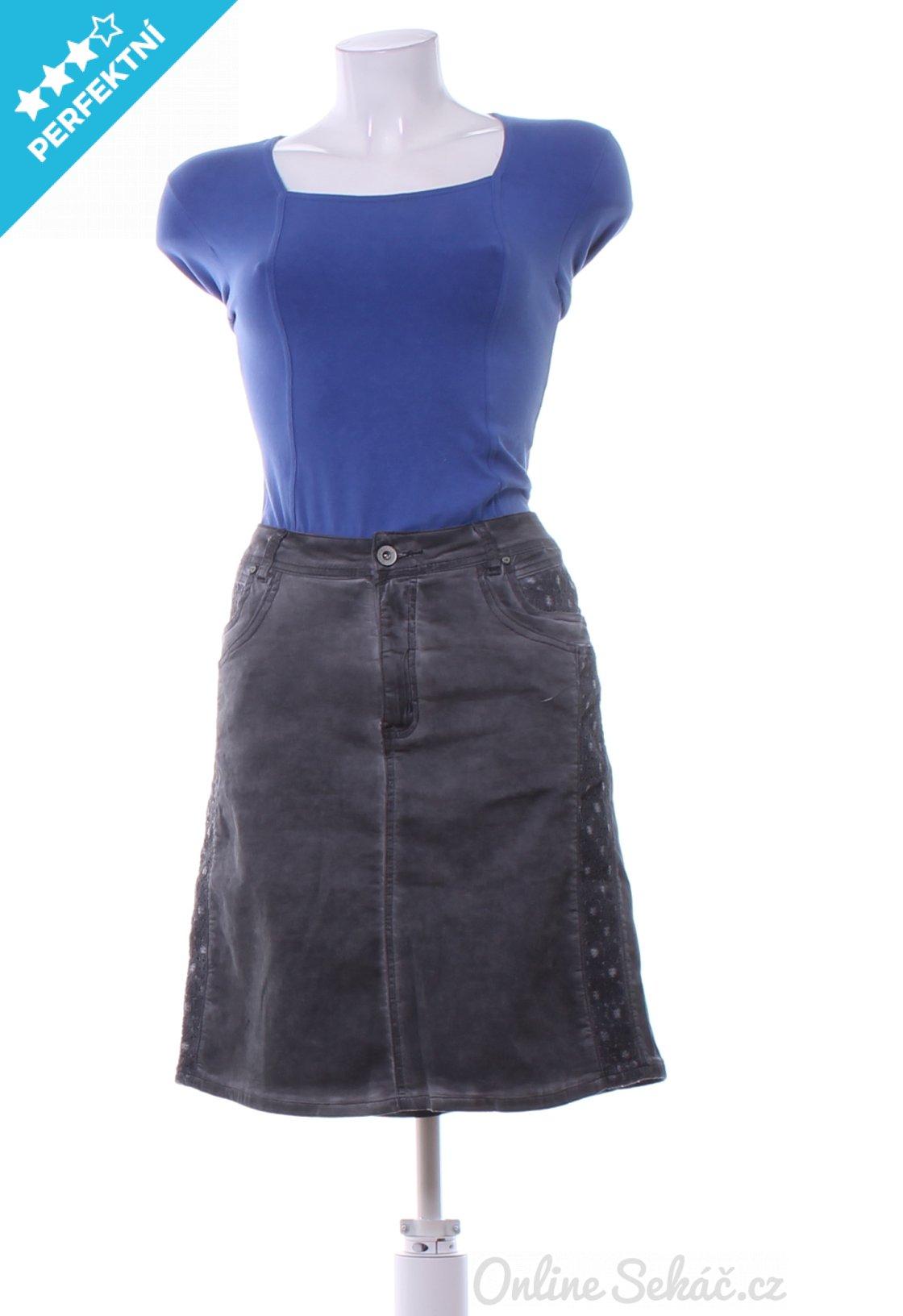 Dámská sukně ke kolenům CELLBES XL c7d560235c1