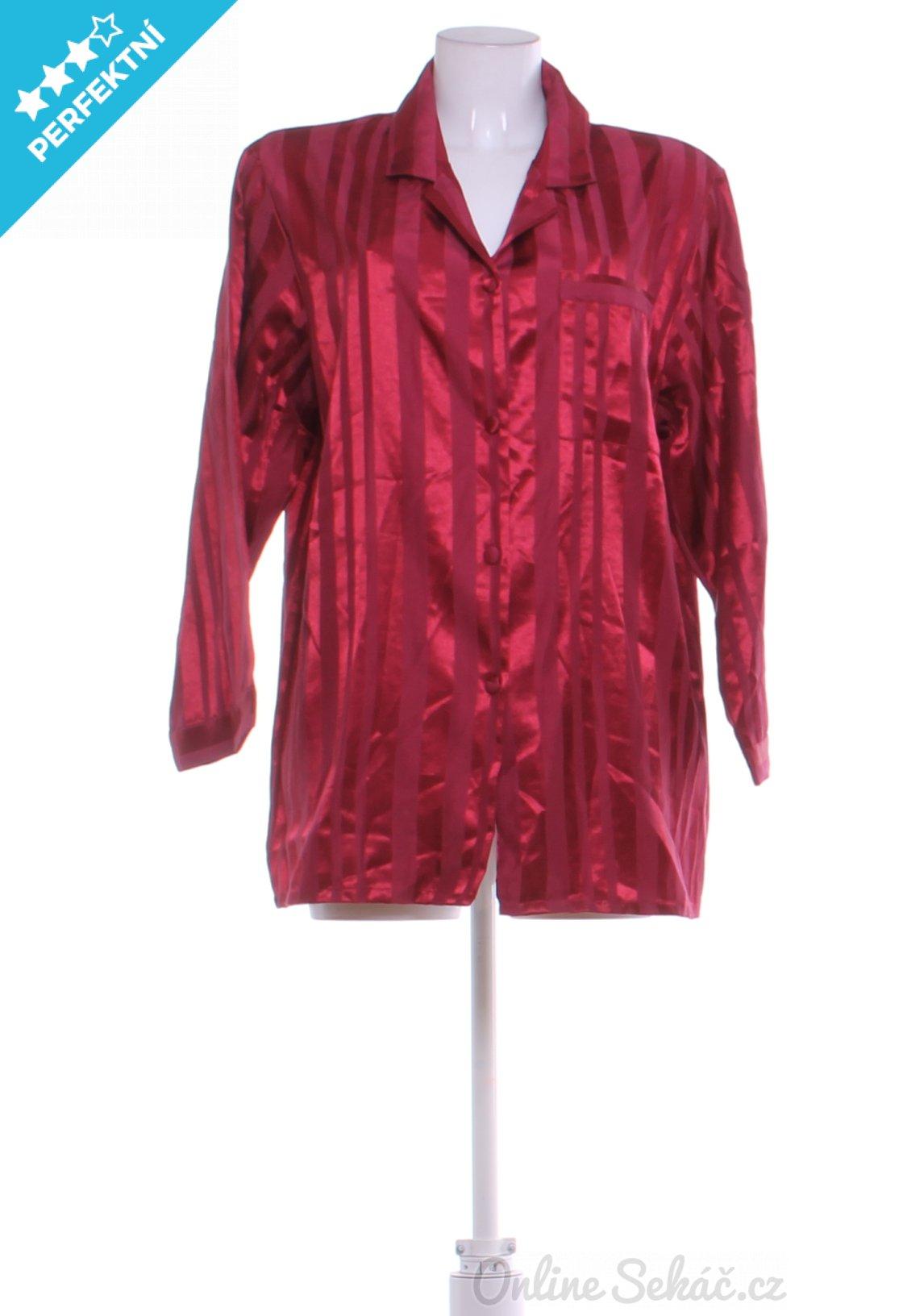 Second hand - Vzor  JEDNOBAREVNÝ   Dámský pyžamový kabátek 8b82b5abdd