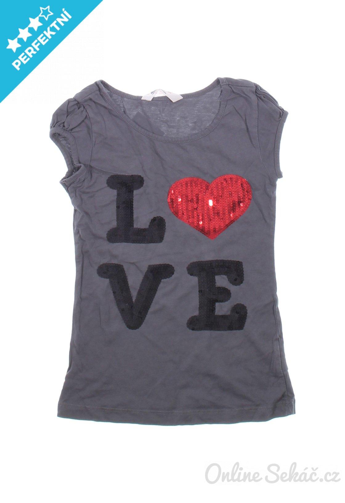 Dětské tričko s potiskem H M 134 b980862ef8