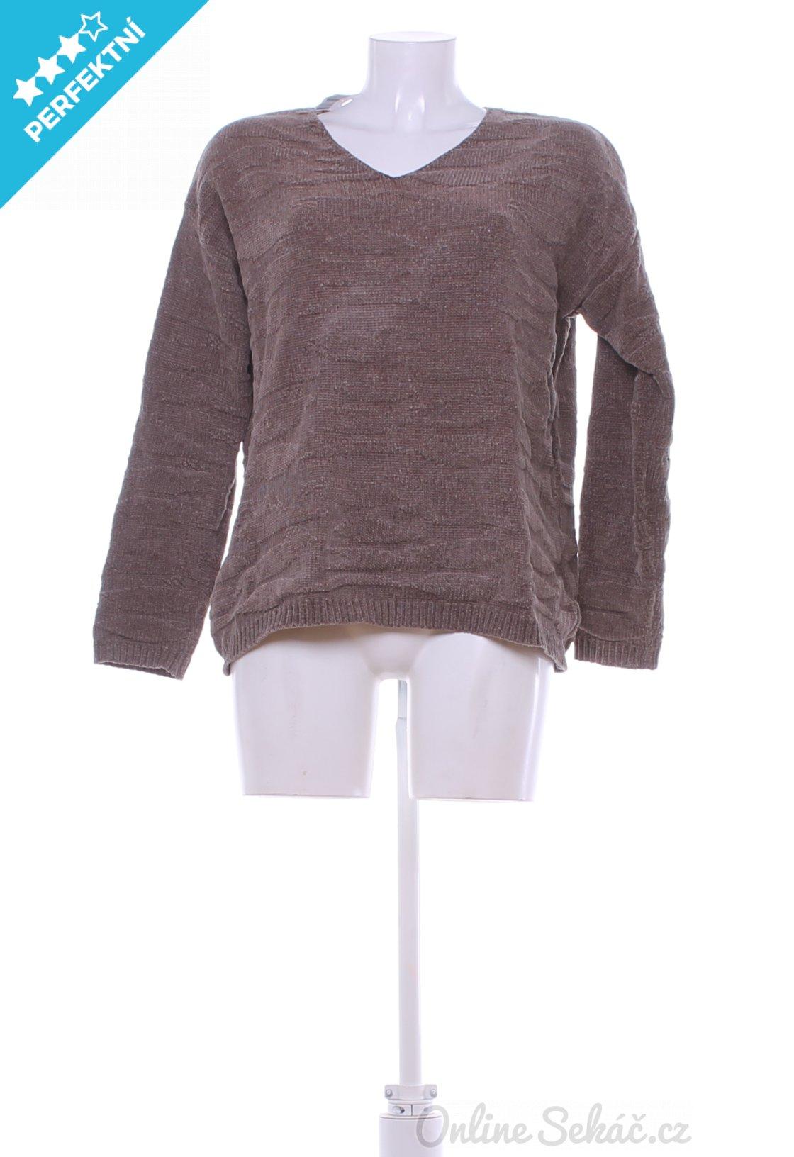 Second hand - Vzor  JEDNOBAREVNÝ   Dámský zimní svetr ANDREA M ... ee95742695