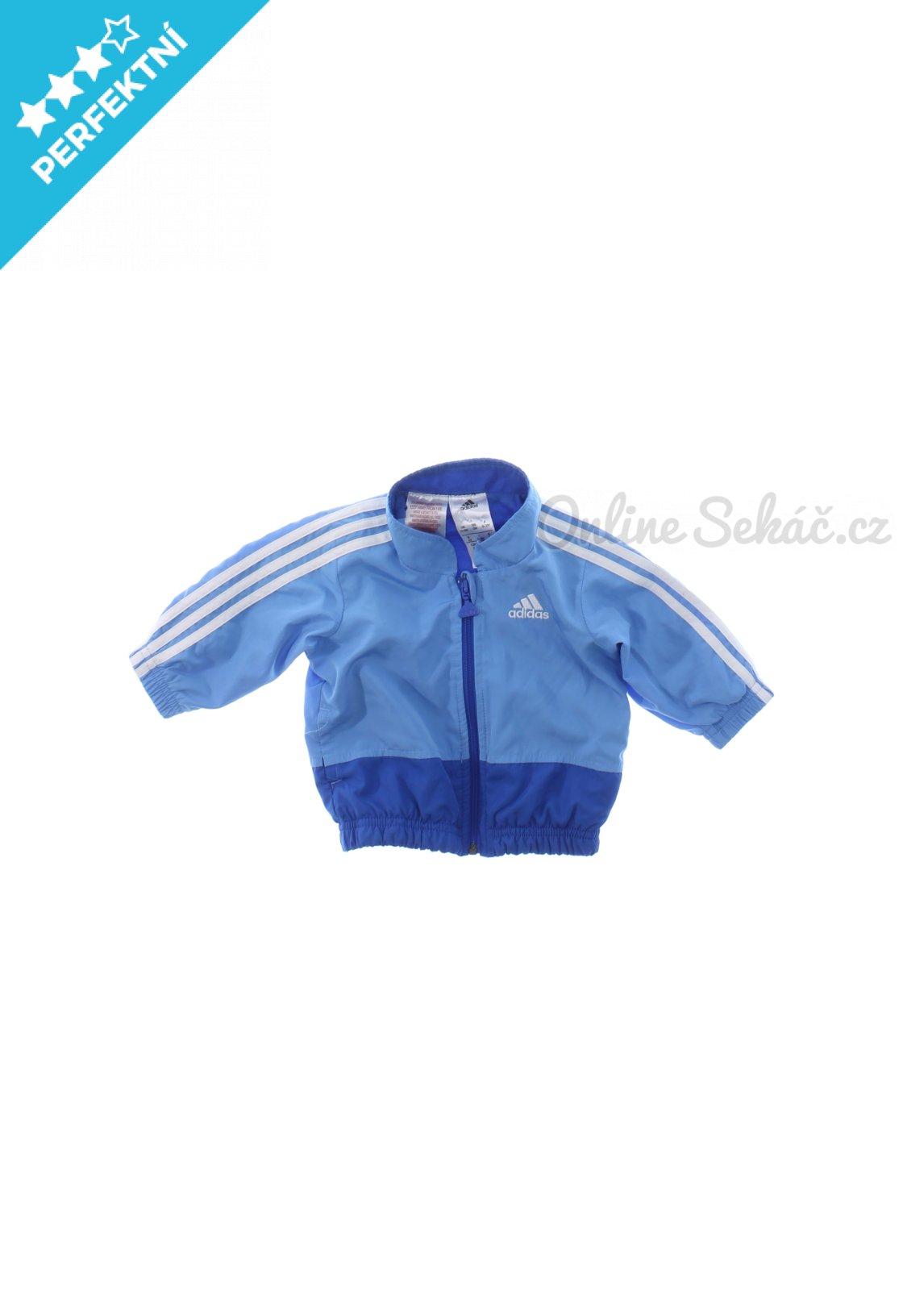 d4257c9772 Kojenecká jarní či podzimní bunda/kabát Adidas 62, modrá #18189153055398