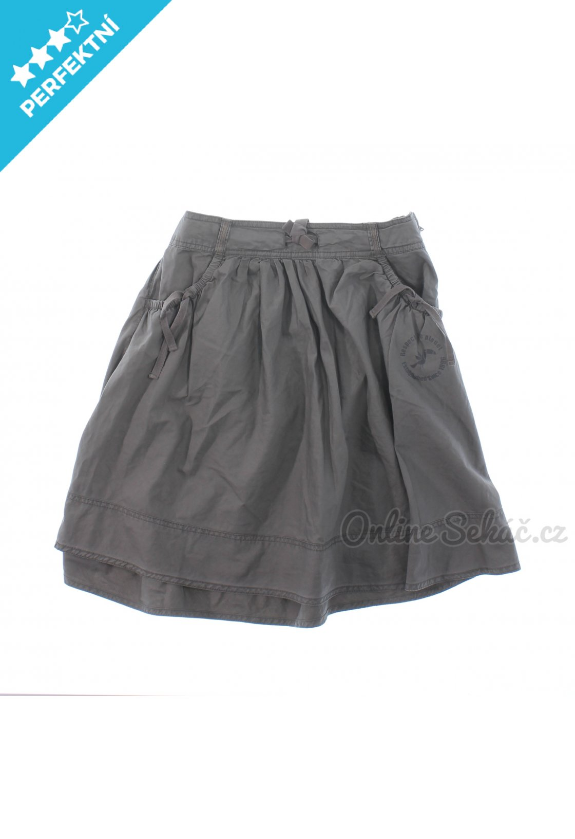 Second hand - Vzor  JEDNOBAREVNÝ   Dětská krátká sukně OKAIDI 134 ... 1f093d5806