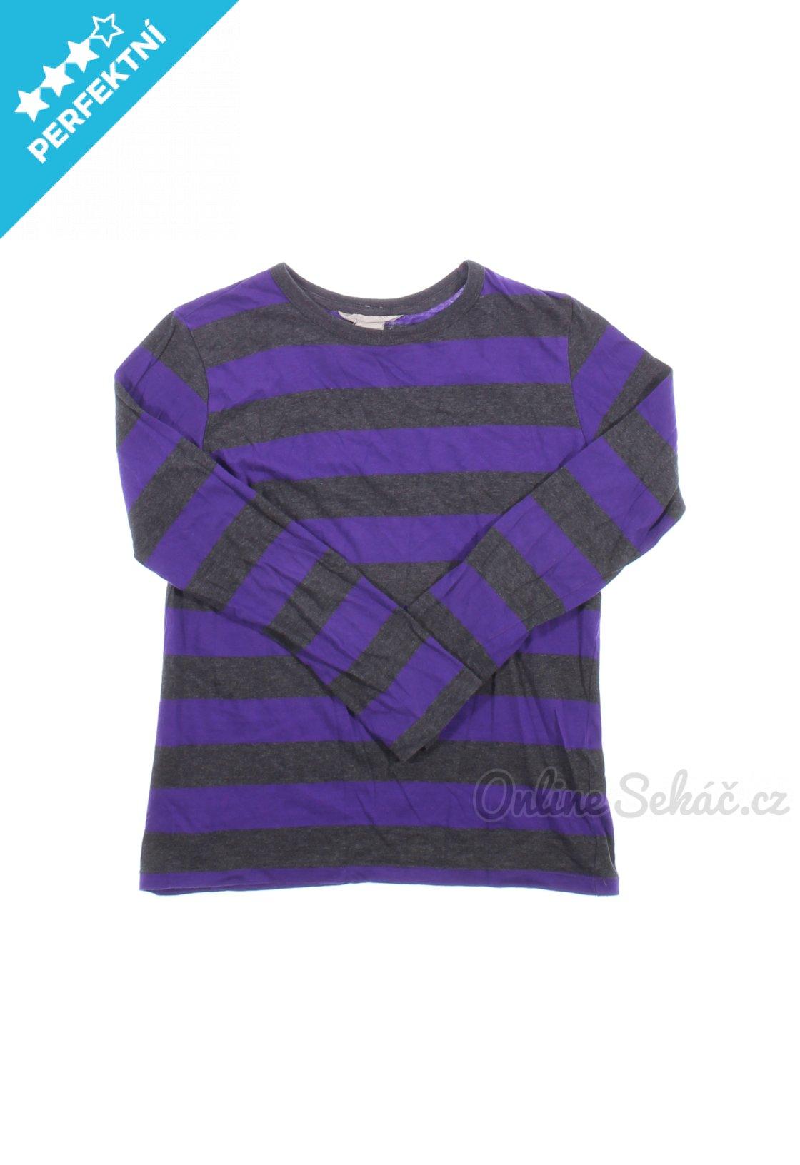 Dětské proužkované tričko H M 134 a262d9303a