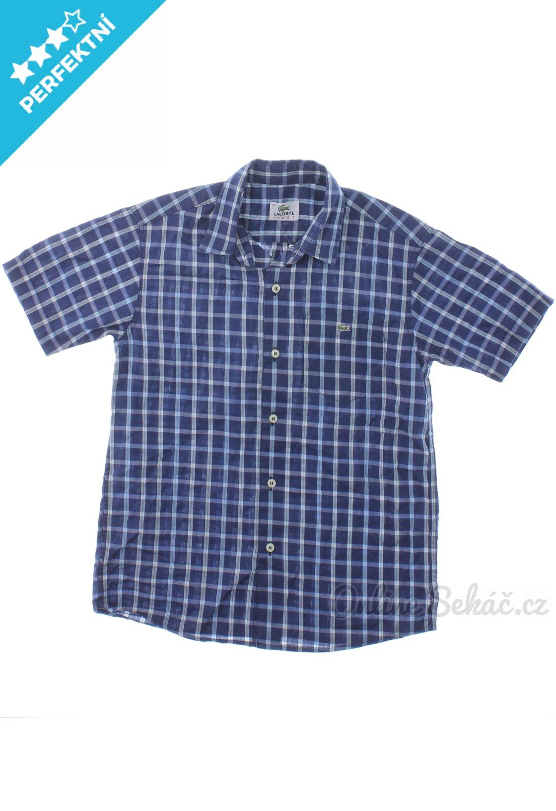 Dětská kostkovaná košile LACOSTE 140 6eb0b1fcc4