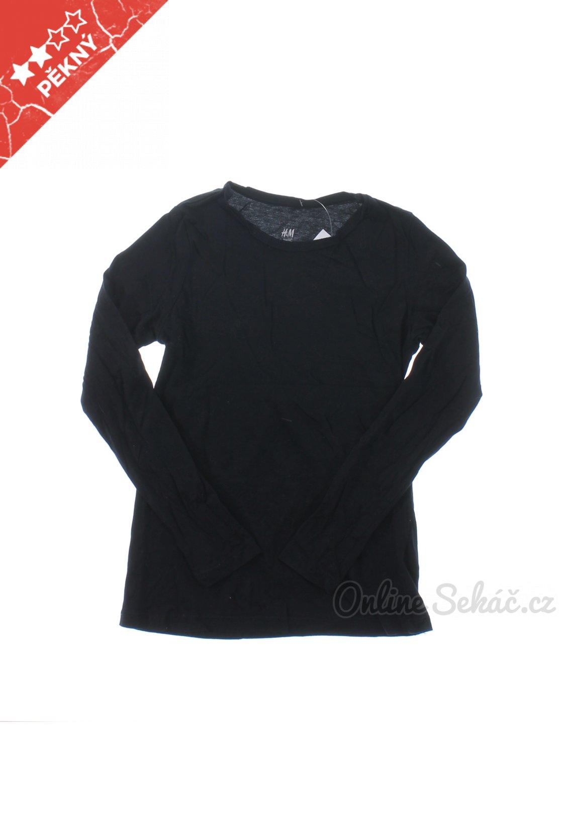 Dětské jednobarevné tričko H M 134 f964eb8534