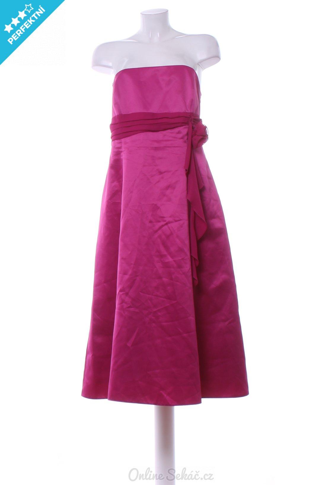 75c11654a719 Second hand > Dámské > Šaty dlouhé > Dámské večerní šaty GEORGE XXL, růžová  #17115122523841