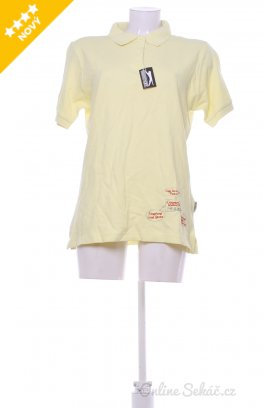Dámské tričko s límečkem SLAZENGER nový L 4615d9be16