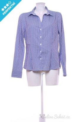 Second hand   Dámské   Košile proužkované f77eb81580
