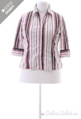 d39a0fe85fd Second hand - Velikost  42   Dámská proužkovaná košile STREET ONE 42 ...