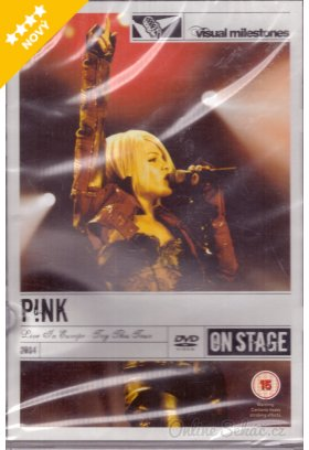 Pink- live in europe : try this tour 2004