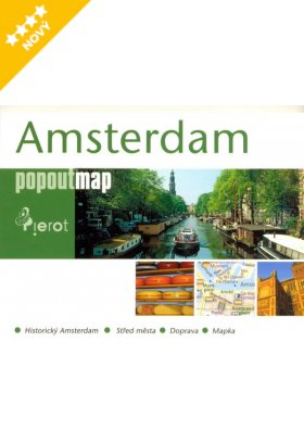 Amsterdam pop out map