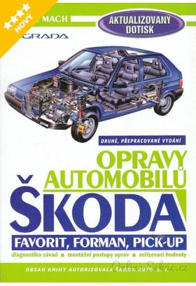 Opravy automobilů Škoda Favorit, Forman, Pick-Up